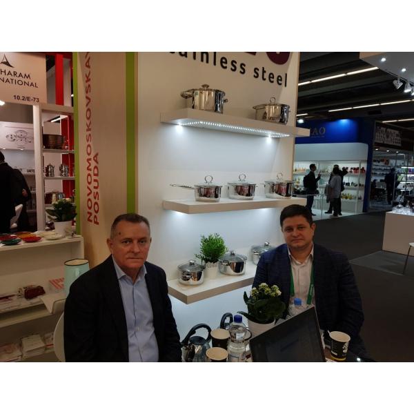 «Новомосковская посуда»  представила свой стенд на выставке Ambiente 2019