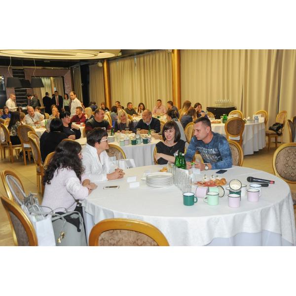 Конференция для клиентов «Новомосковской посуды»